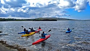 Kayaking in Donegal