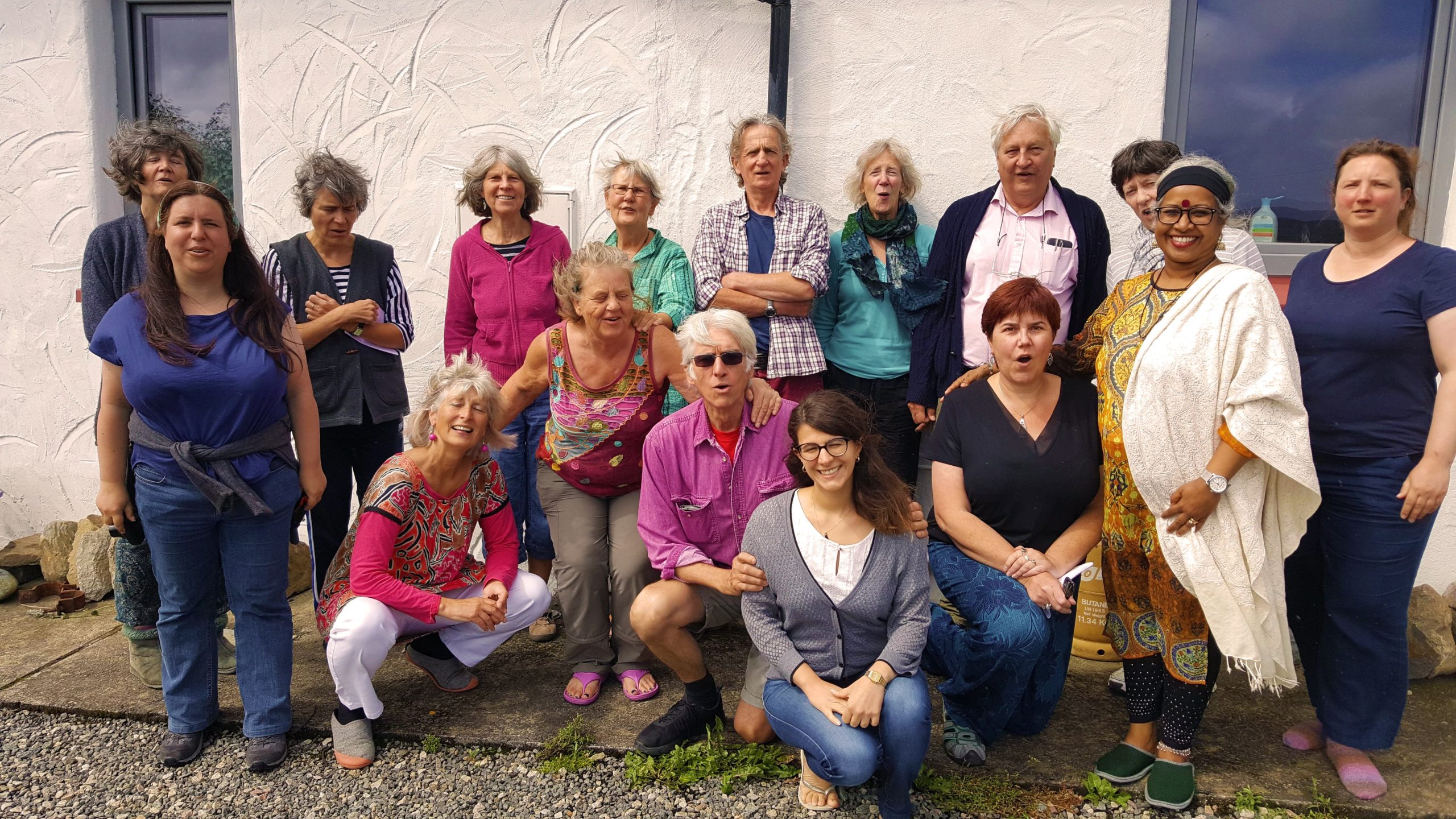 Singing Holiday Group Enjoying Their Stay At at The Song House