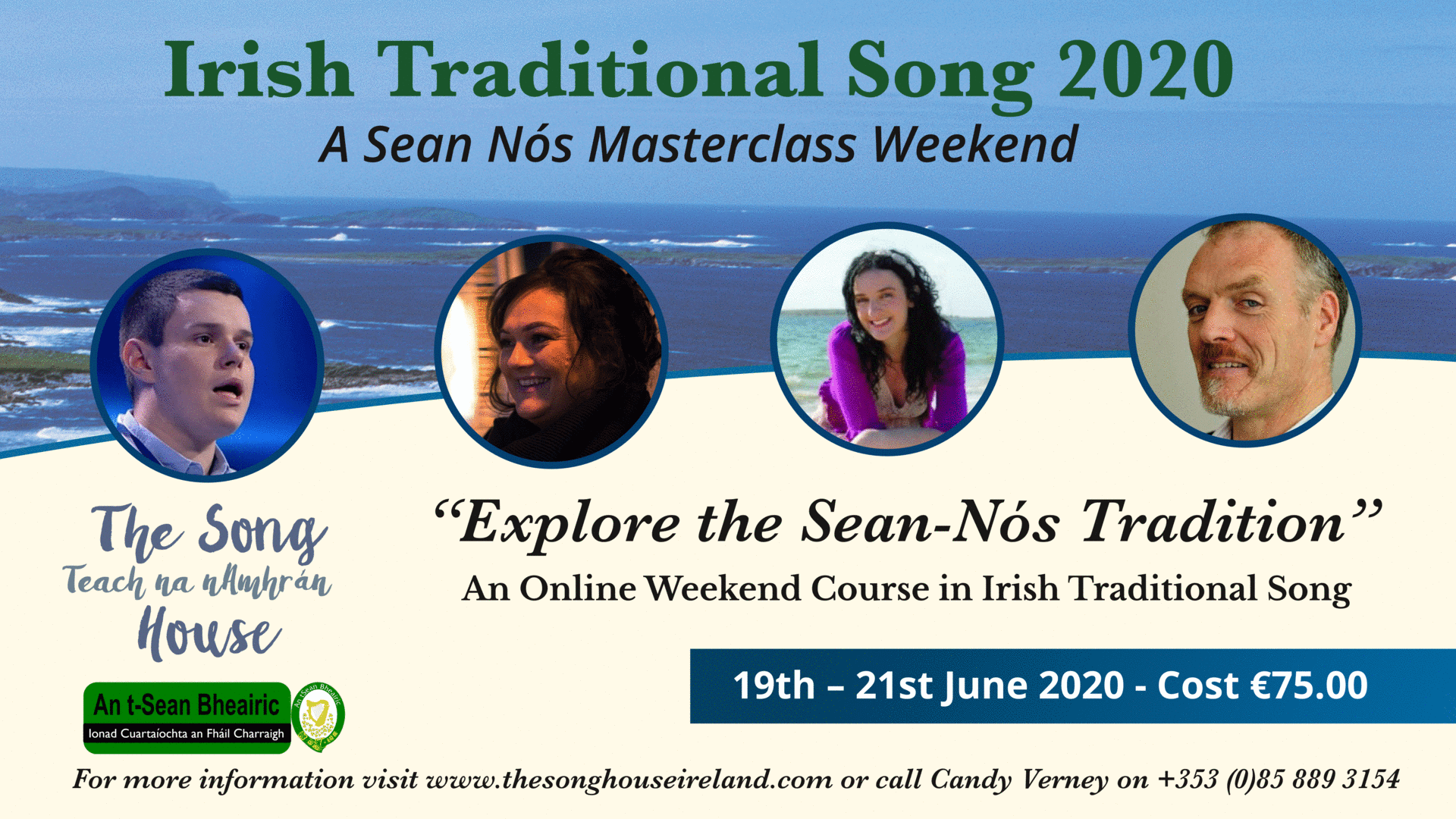 Sean Nós Singing Online Course 2020